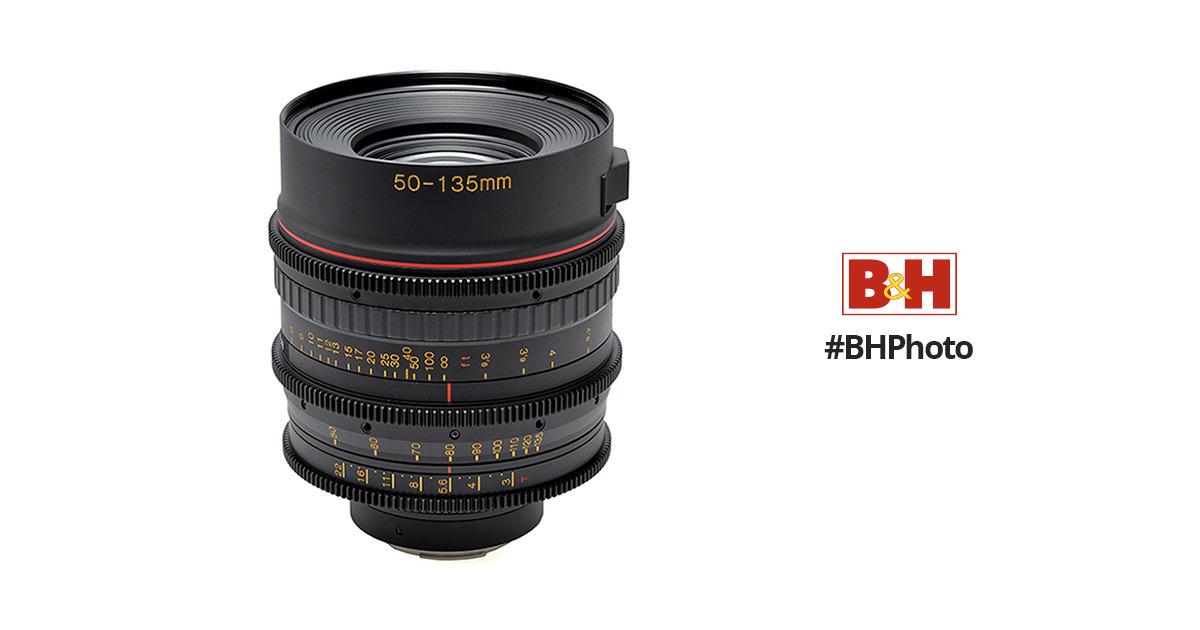 Tokina Cinema 50-135mm T3.0 with Canon EF Mount TC-535C B&H