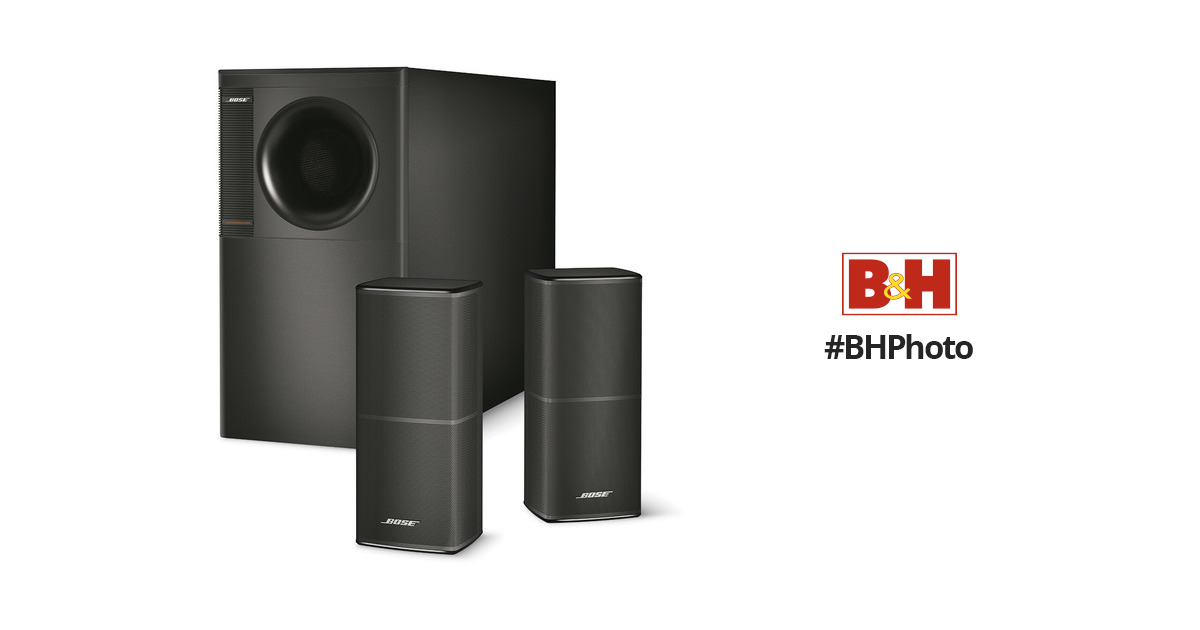 bose acoustimass 5 series v home theater speaker 741131 0100 b h rh bhphotovideo com Bose Acoustimass Speaker Setup Bose Acoustimass 5 Series 2