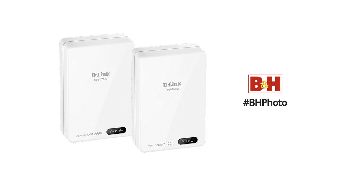 d link dhp 701av powerline av2 2000 gigabit network dhp 701av. Black Bedroom Furniture Sets. Home Design Ideas