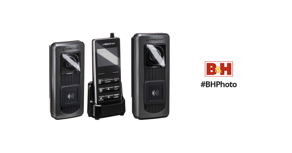 Optex Ivision Wireless Intercom System Kit With