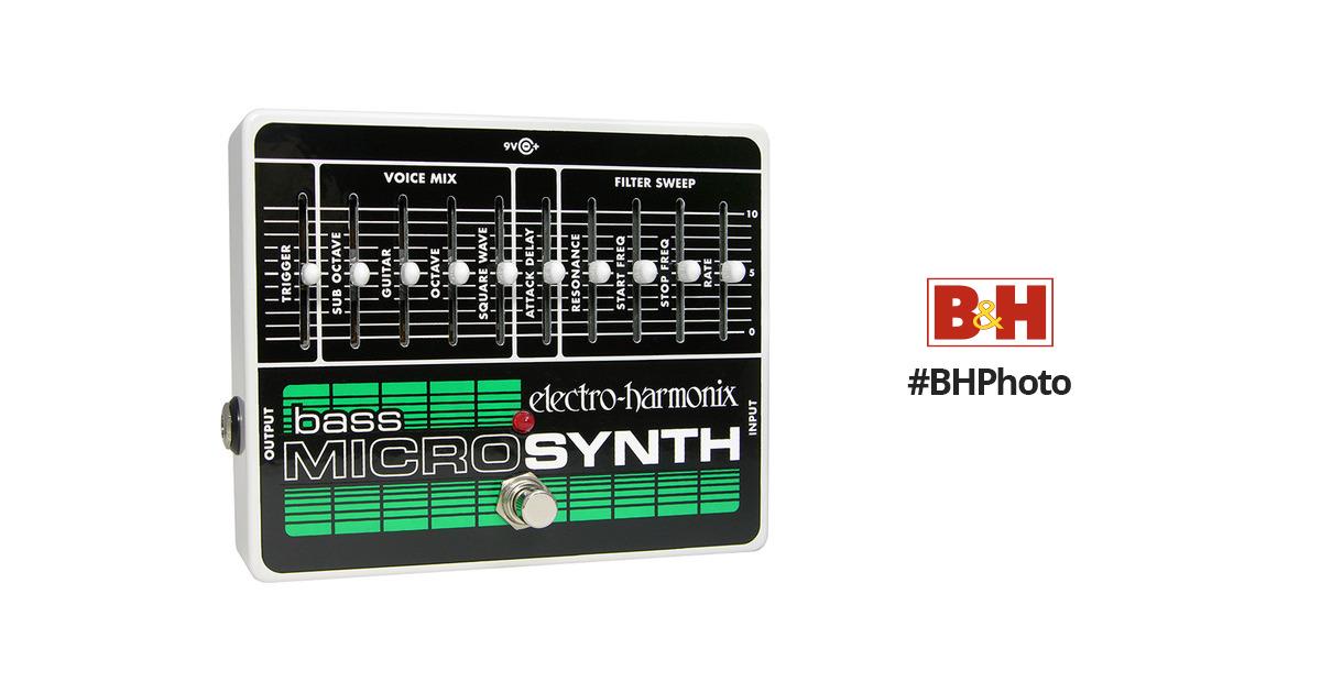 electro harmonix bass micro synthesizer bassmicro b h photo video. Black Bedroom Furniture Sets. Home Design Ideas