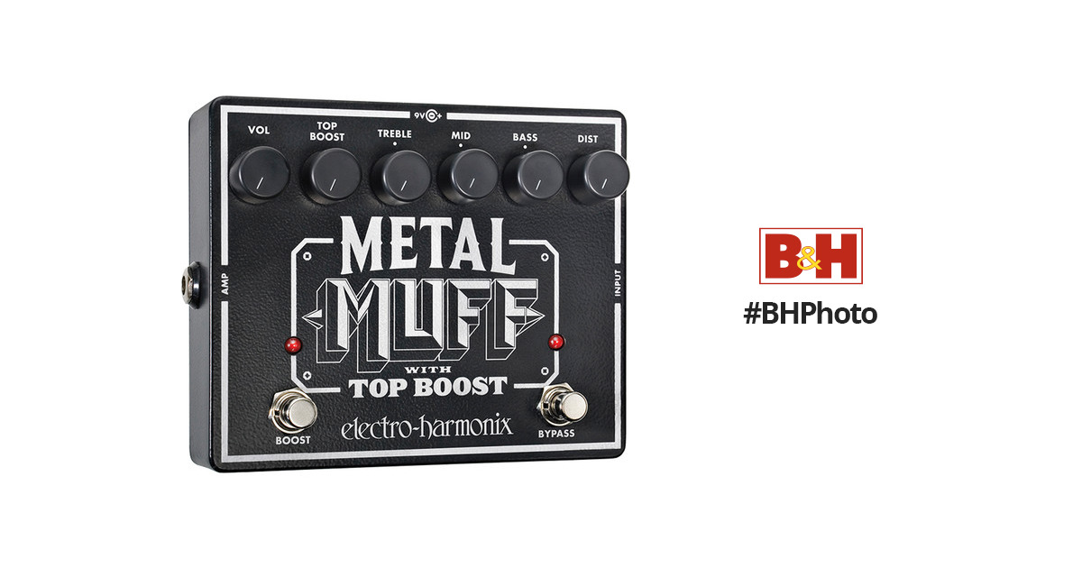 electro harmonix metal muff distortion pedal with top metal muff. Black Bedroom Furniture Sets. Home Design Ideas