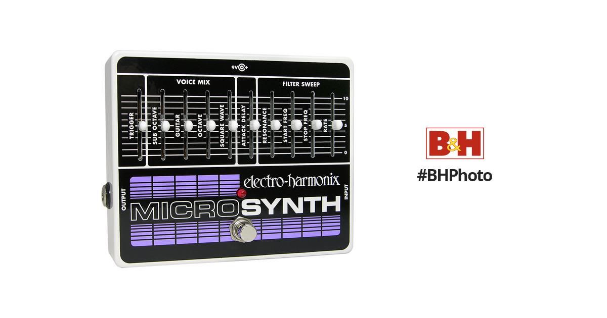 electro harmonix micro synthesizer micro b h photo video. Black Bedroom Furniture Sets. Home Design Ideas