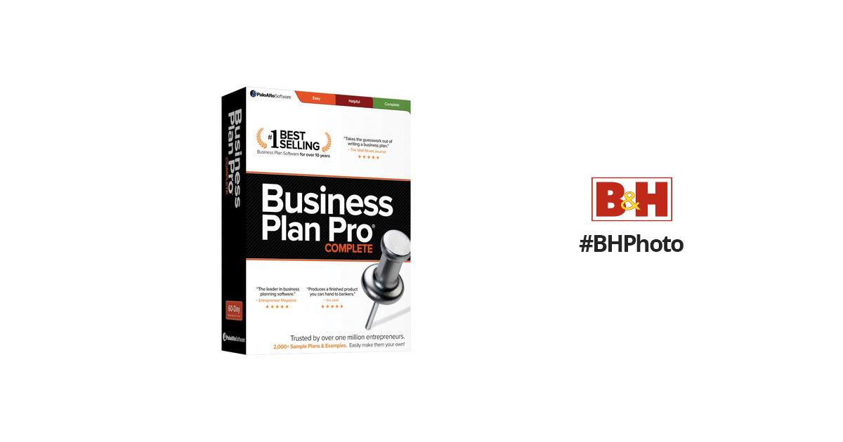 business plan pro mac palo alto