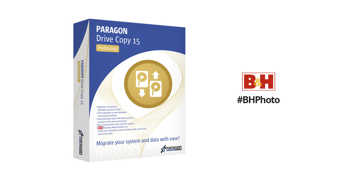 Paragon Drive Copy 15 Professional (Download)