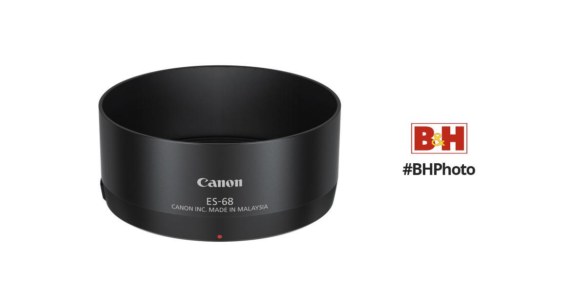 HoodensYHM ES-68 Lens Hood Shade for Canon Camera EOS EF 50mm f//1.8 STM Lens