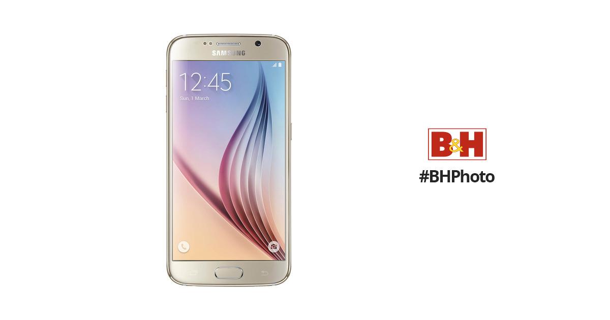 Samsung Galaxy S6 SM-G920F 32GB Smartphone (Unlocked, Gold Platinum)
