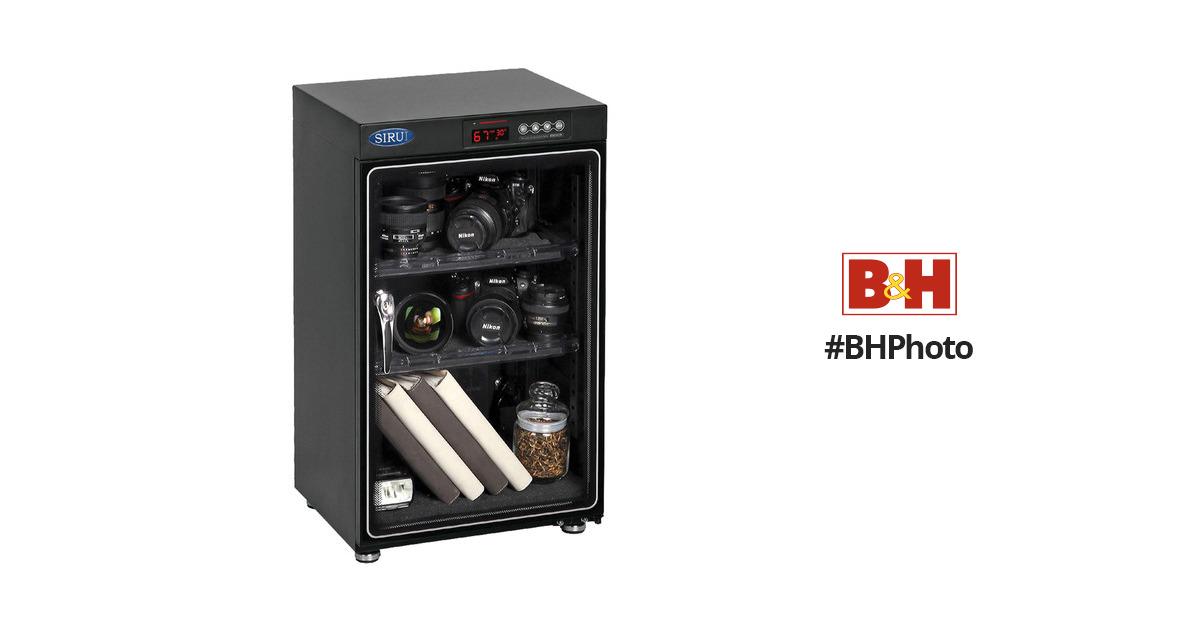 Sirui Hc 70 Electronic Humidity Control Cabinet Suhc70 B Amp H