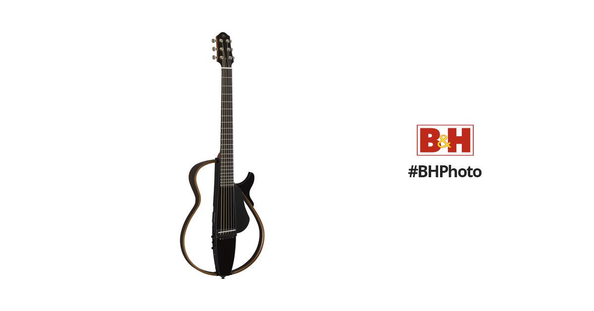 Yamaha slg200 steel string silent guitar slg200s tbl b h photo for Yamaha slg200s steel string silent guitar