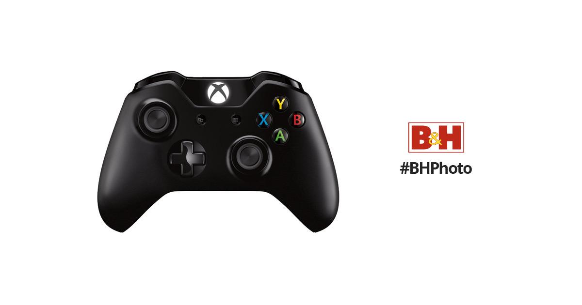Microsoft Xbox One Wireless Controller (2015 Version, Black)