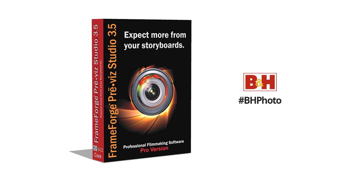 FrameForge Previz Studio 3.6 Pro Version PV3PRO-EDU B&H Photo