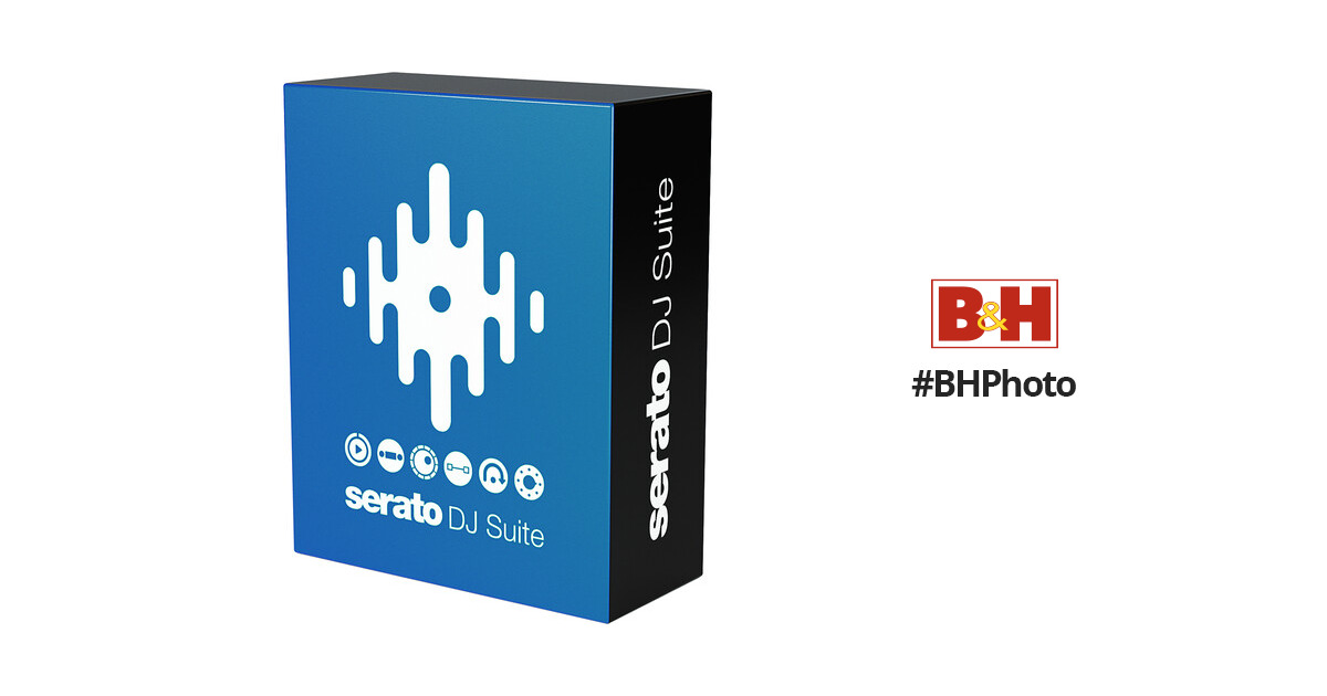 Serato DJ Suite - All-In-One DJ Software Bundle with Expansion Packs