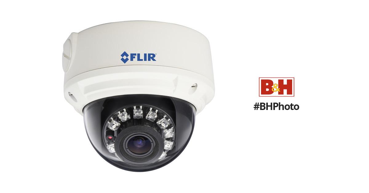 Flir SyncroIP Varifocal IR Vandal Dome IP Security Camera featuring ONVIF 2.1