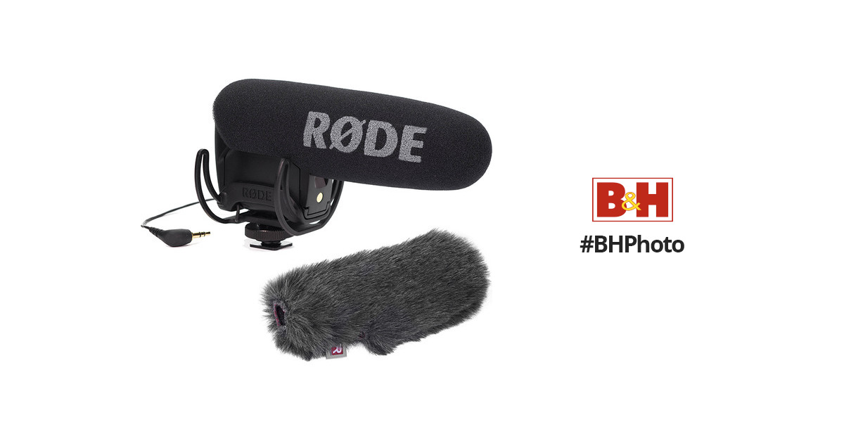 ad1a0694ec Rode VideoMic Pro Kit with Rycote Lyre Suspension Mount and B H