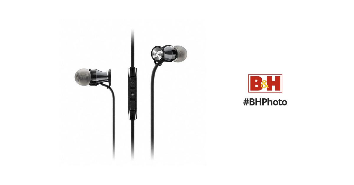 Sennheiser Momentum In-Ear Headphones (Samsung Galaxy/Android, Black Chrome)