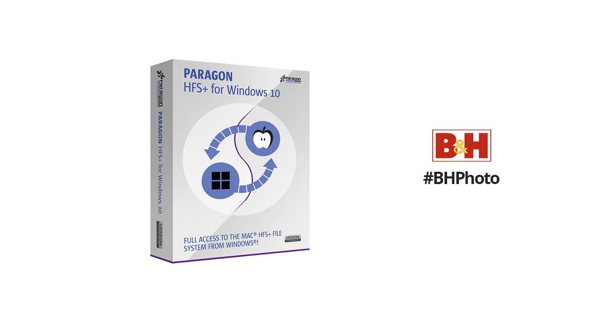 paragon hfs  windows 7