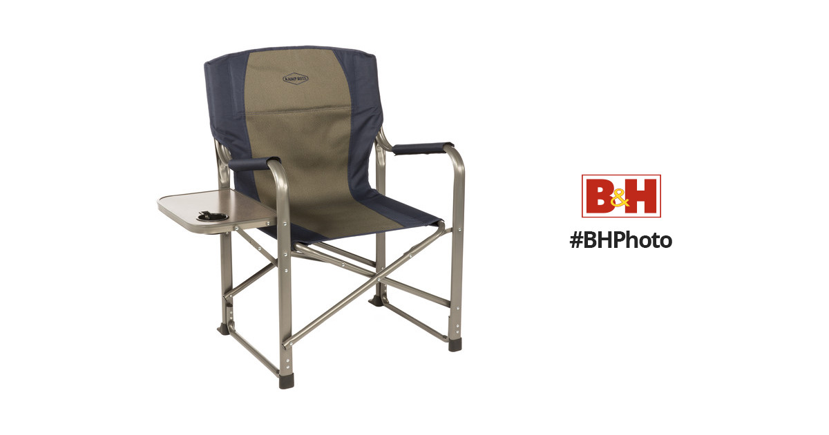 Miraculous Kamp Rite Folding Directors Chair With Side Table Dailytribune Chair Design For Home Dailytribuneorg