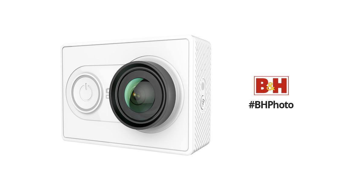 Yi Technology Action Camera White 88001 B Amp H Photo Video