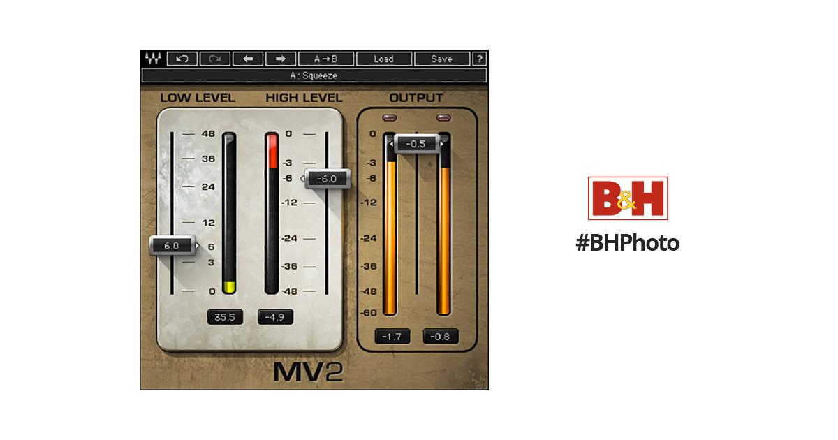 waves mv2 compressor plug in native soundgrid download. Black Bedroom Furniture Sets. Home Design Ideas