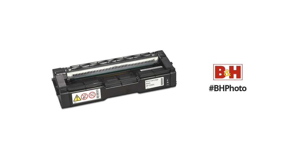 407539 Black Print Cartridge Ricoh Corp Print Cartridge Black Sp C250a