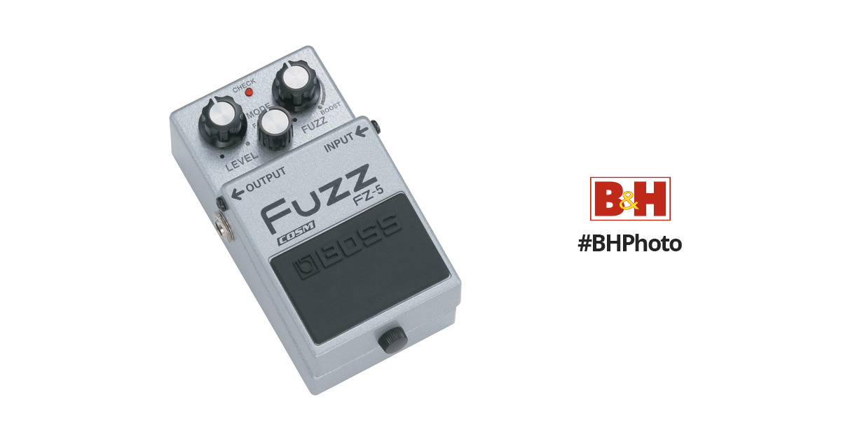 boss fz 5 fuzz pedal fz 5 b h photo video. Black Bedroom Furniture Sets. Home Design Ideas