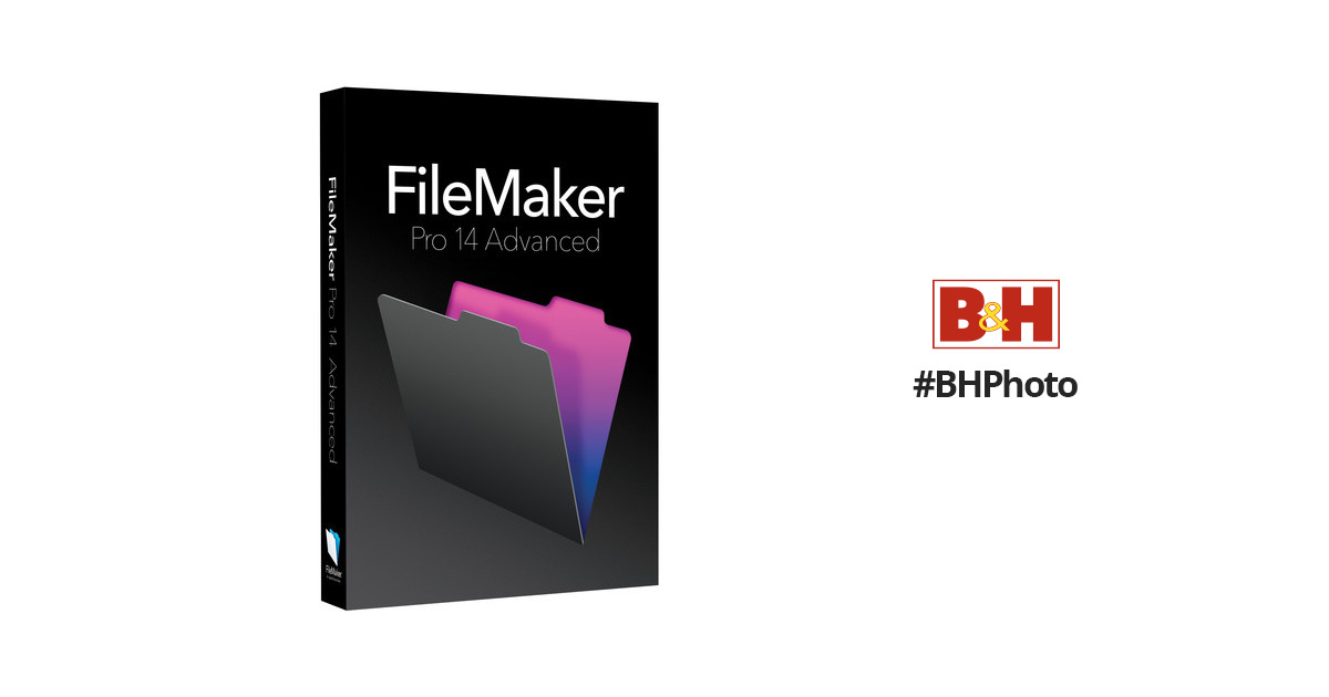 FileMaker Pro 14 Advanced (Education & Non-Profit Edition)
