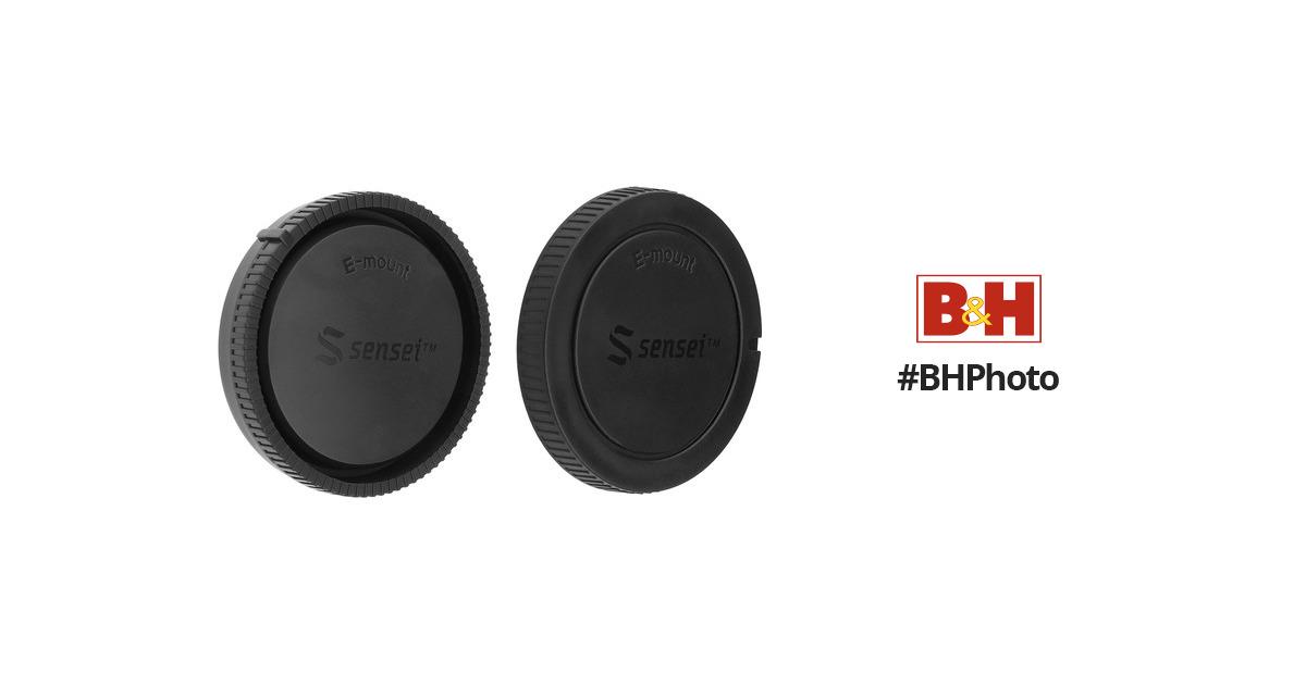 Sensei Body And Rear Lens Cap Kit For Sony E Mount B Amp H Photo