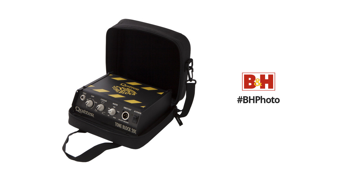 e5c2b8581b Quilter Block Series Deluxe Case for Tone Block BLOCK-DLXCS B&H