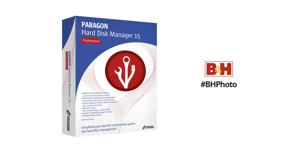 Paragon Hard Disk Manager 15 Professional (Download)