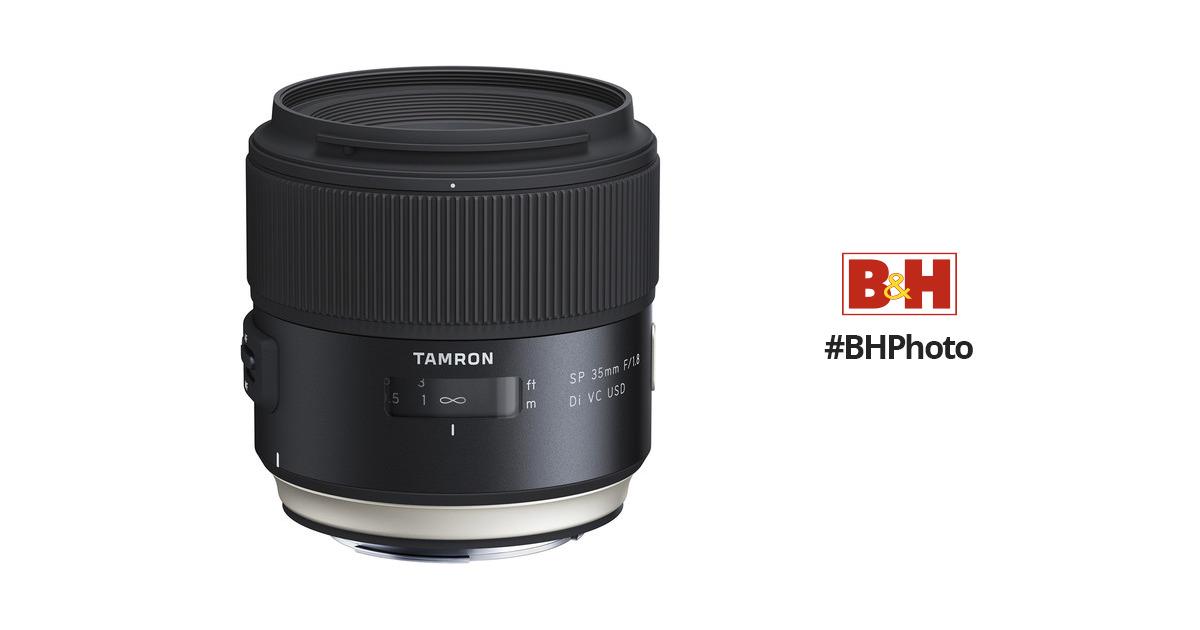 TamronSP 35mm f/1 8 Di VC USD Lens for Nikon F