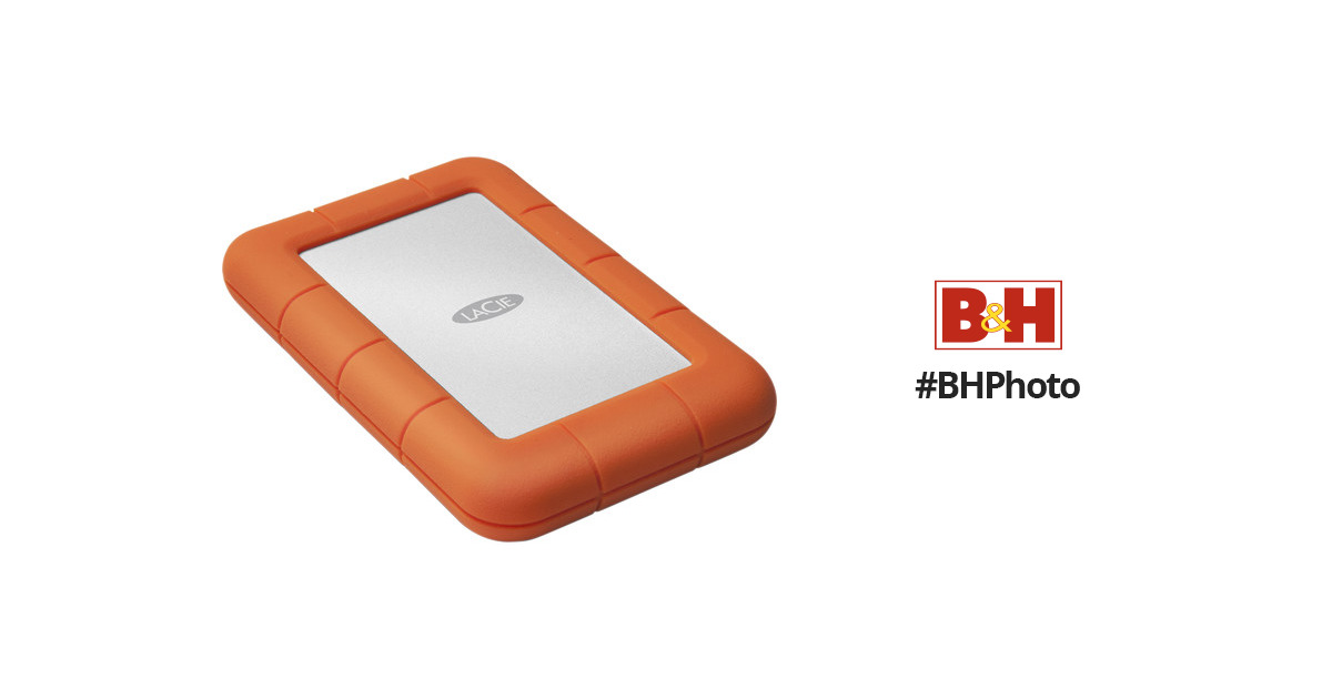 Lacie 4tb Rugged Mini Portable Hard Drive Lac9000633 B Amp H Photo