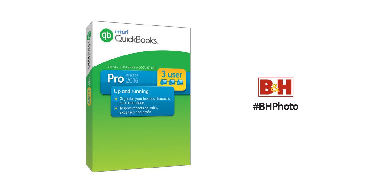 Intuit QuickBooks Pro 2016 (3-Users, Download)