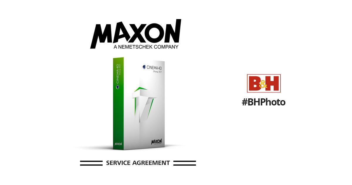 maxon cinema 4d prime msa annual maintenance msa n c4d b h. Black Bedroom Furniture Sets. Home Design Ideas
