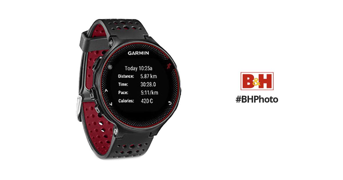 Garmin Forerunner 235 GPS Running Watch with Wrist-Based Heart Rate  (Marsala)