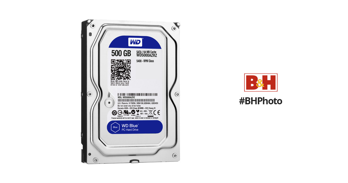 WD 500GB Blue 3 5