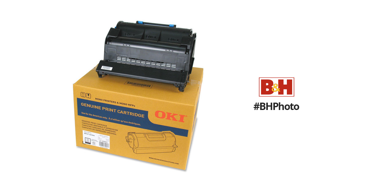Works with: B721DN B731DN Black PSX Compatible Toner Ink Replacement for Oki-Okidata 45488801