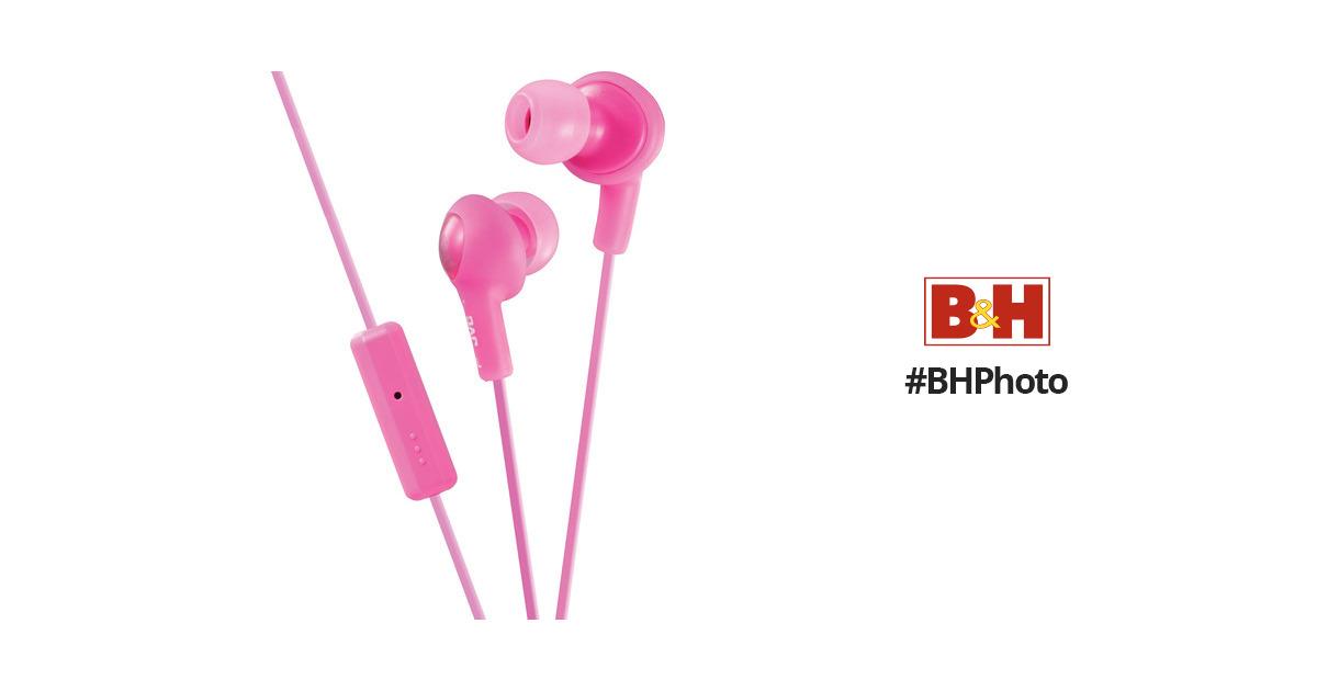 JVC HA-FR6 Gumy Plus Earbuds (Pink) HA-FR6P B H Photo Video 4e515c4840