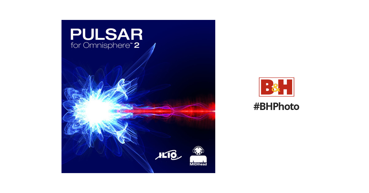ILIO Pulsar - Patches for Omnisphere 2 (Download) IL-PULS B&H