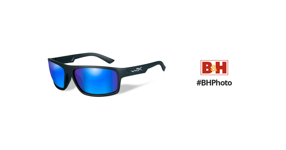 6e2887c48d Wiley X Peak Polarized Sunglasses ACPEA09 B H Photo Video
