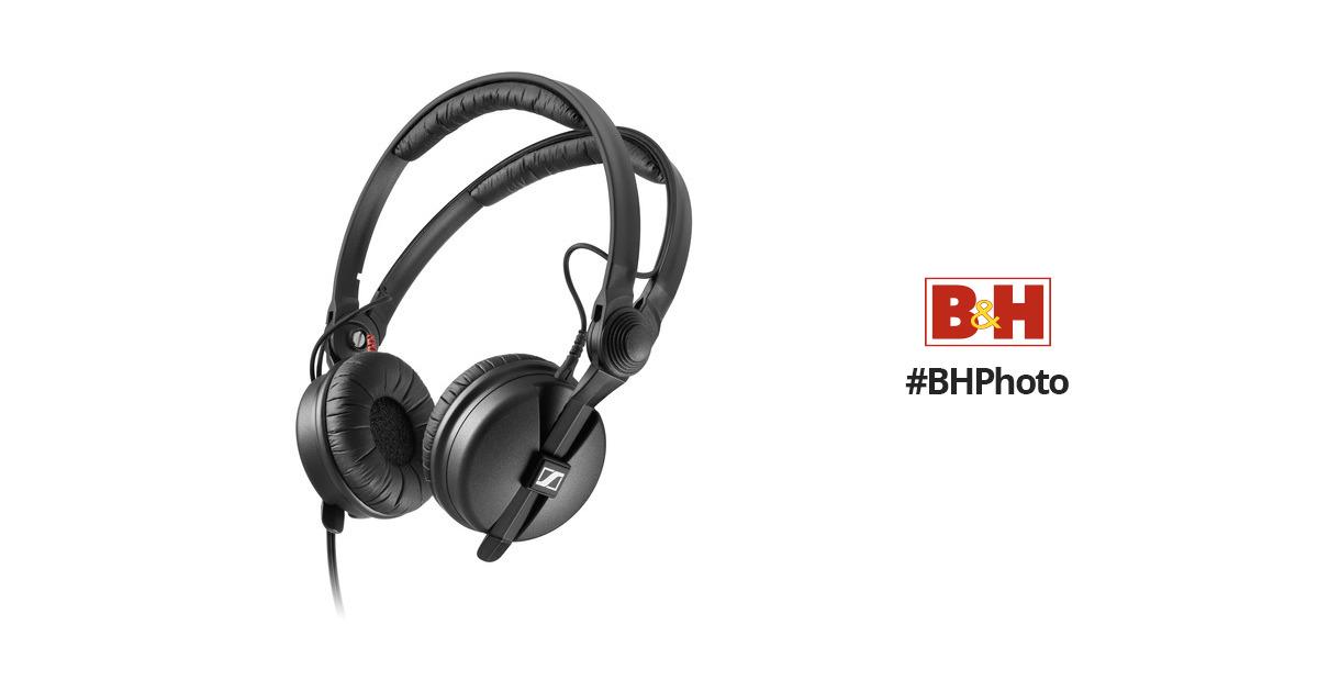 sennheiser hd 25 plus monitor headphones 506908 b h photo video. Black Bedroom Furniture Sets. Home Design Ideas