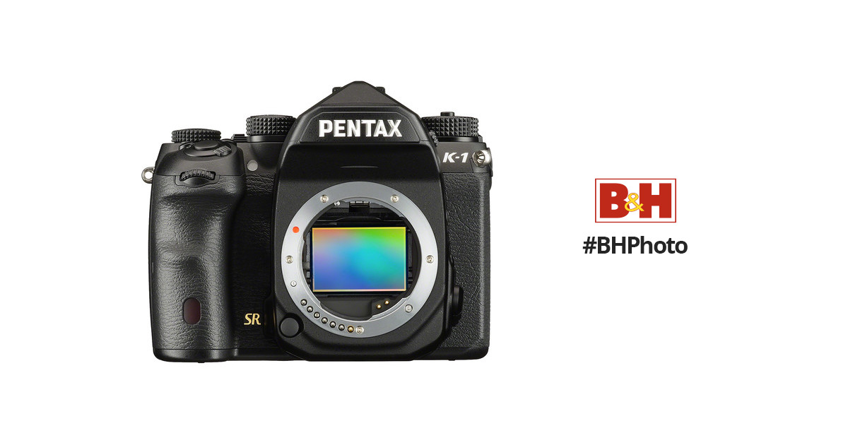 Pentax K-1 DSLR Camera (Body Only) 19568 B&H Photo Video