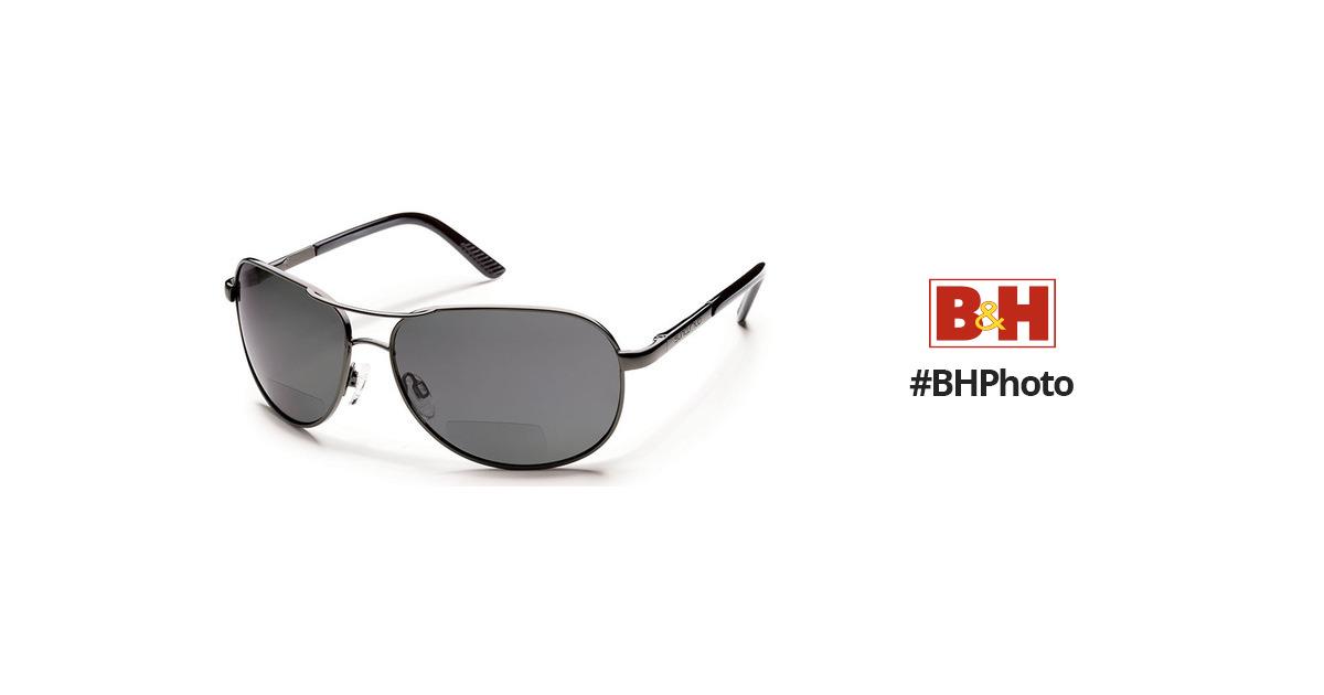 bea19f7871b5 SUNCLOUD OPTICS Aviator Sunglasses with Readers S-AVPPGYGM200