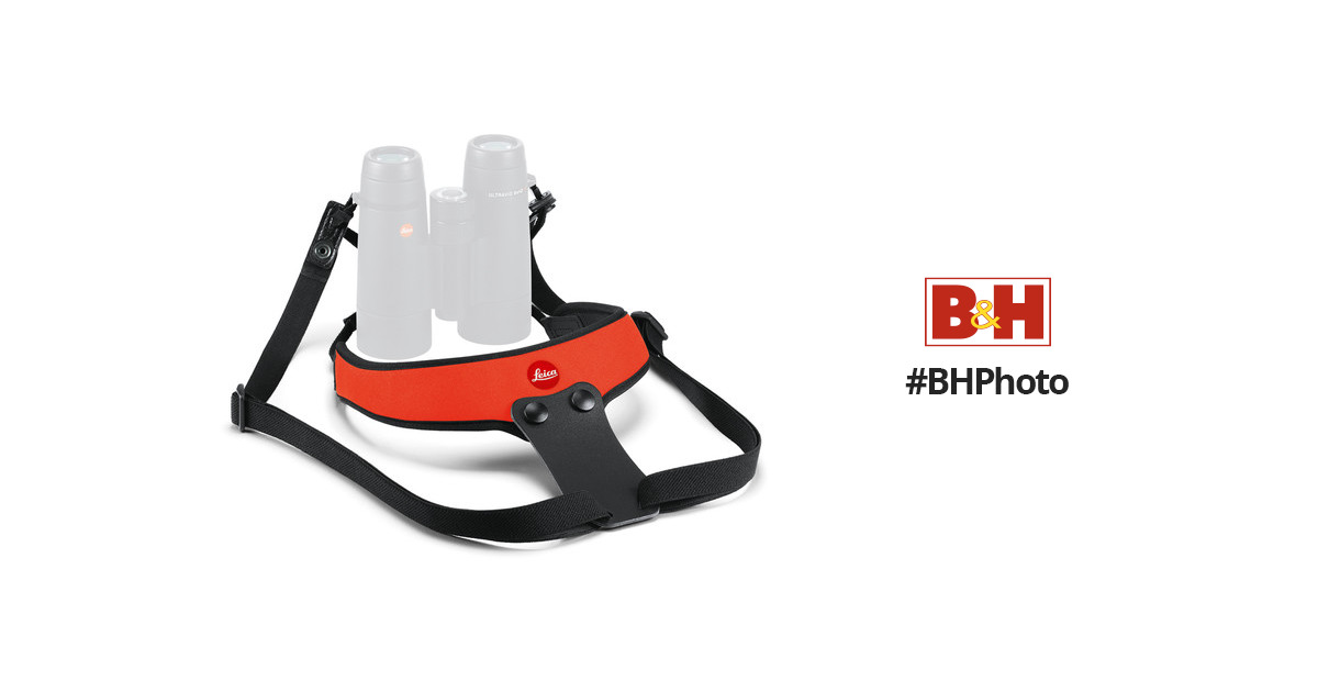 Binocular Cases & Accessories Leica Neoprene Binocular Strap Sport ** Juicy Orange ** Cameras & Photo leica Number : 42058