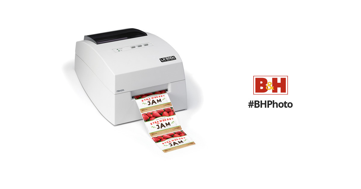 This is a photo of Versatile Primera Color Label Printer Lx500
