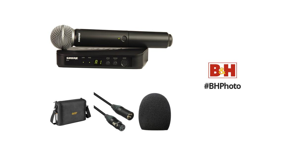 Shure Blx24 Sm58 Handheld Wireless Microphone System : shure blx24 sm58 wireless handheld microphone system with sm58 ~ Hamham.info Haus und Dekorationen