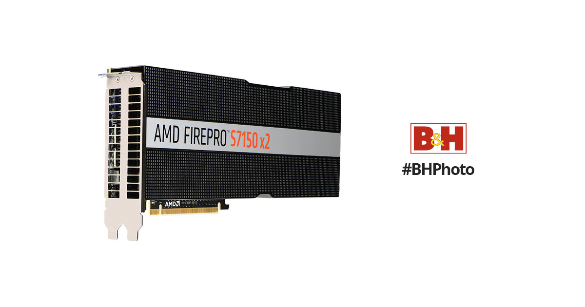AMD FirePro S7150 x2 Server Graphics Card