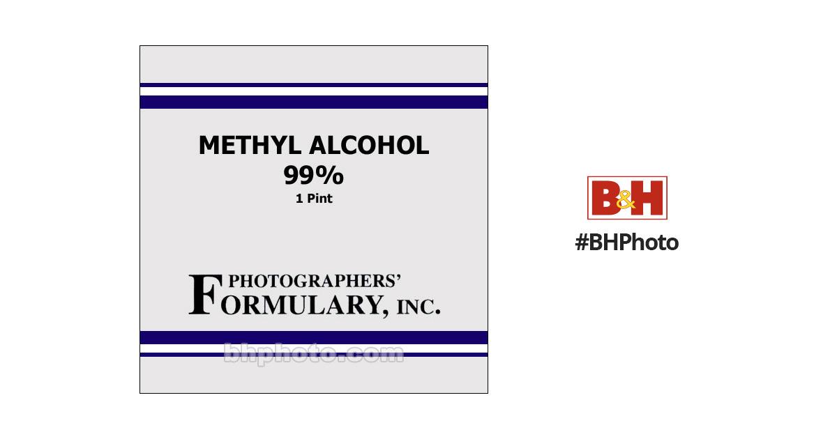 Photographers' FormularyMethyl Alcohol, 99% - 1pt