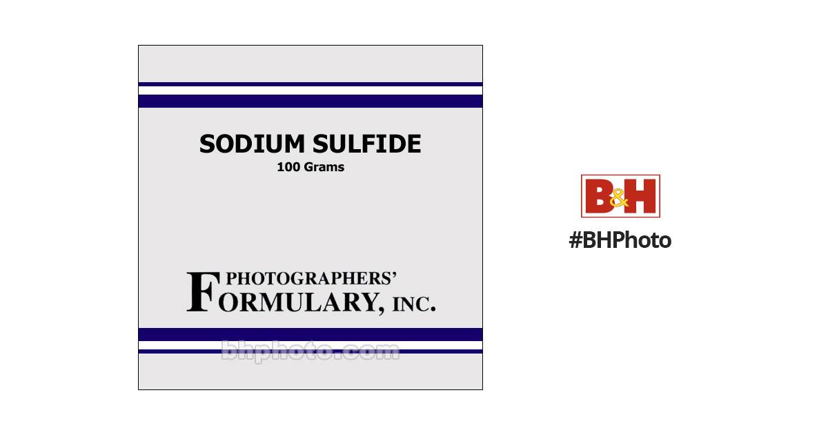 Photographers' FormularySodium Sulfide - 100 Grams