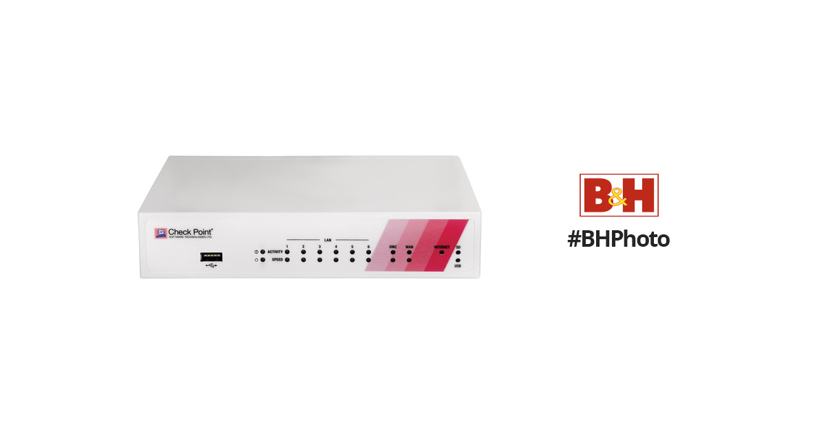 Check Point 750 Wired Gigabit Security/Firewall Router