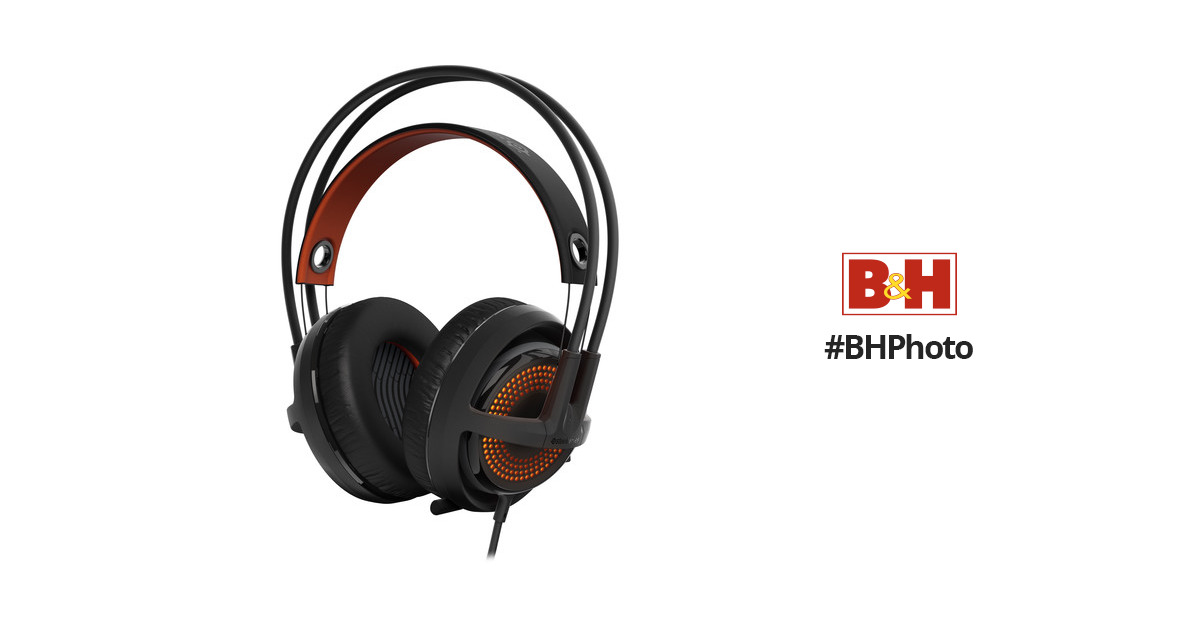 f18c5ec35ff SteelSeries Siberia 350 Gaming Headset (Black & Orange)